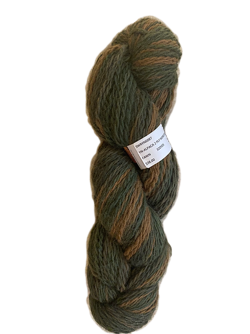 Alpaca 2-Ply Worsted - Fawn