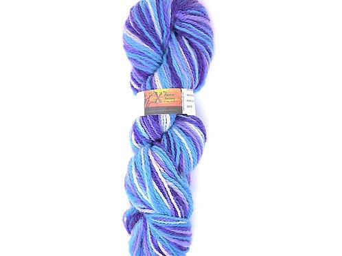 Wool 100%  2-Ply Sport - Purple Water