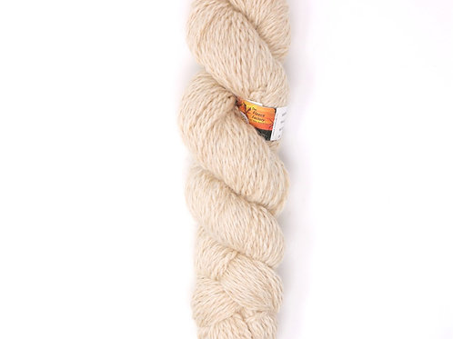 Alpaca 2-Ply Worsted  - Natural Beige