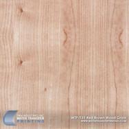 WTP-135 Red & Brown Wood Grain