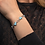 Thumbnail: Floating Heart Larimar Bracelet