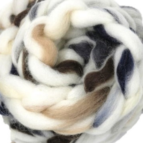 Blended Roving - Alpaca Forest