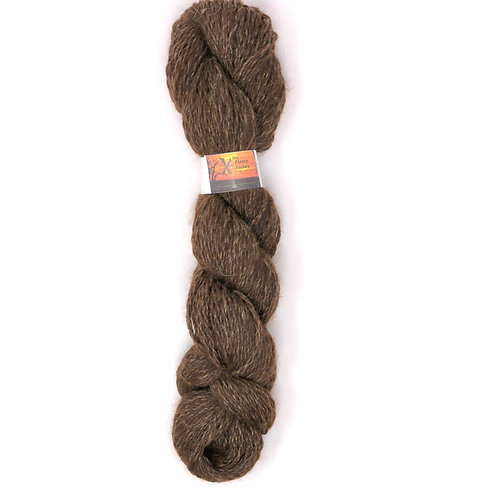 80/20 Alpaca/Wool Blend - Brown