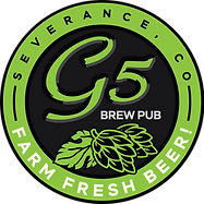 G5 Brew Pub Farm Fresh Beer, Severence CO