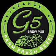G5 Brew Pub Farm Fresh Beer, Severence CO