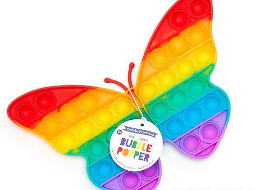 Rainbow Bubble Popper - Butterfly