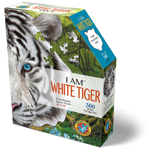Jigsaw Puzzle - I Am White Tiger - 300 Pieces