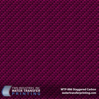 WTP-886 Staggered Carbon Pink