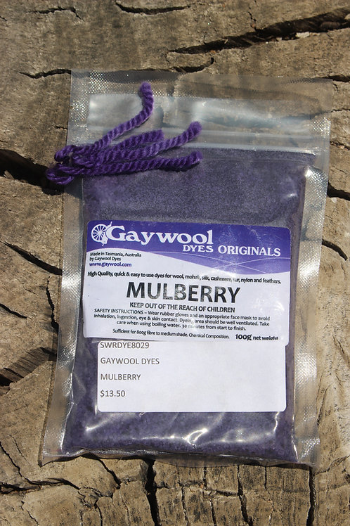 Gaywool Dyes Originals - Mulberry