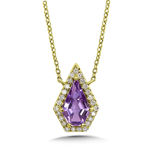 Royal Diamond and Amethyst Necklace
