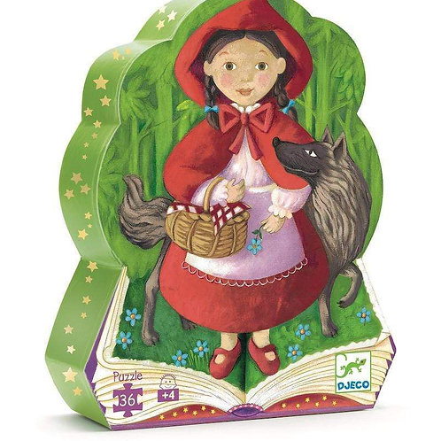Jigsaw Puzzle - DJECO Little Red Riding Hood - 36 Pieces