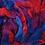 Thumbnail: Dyed Corriedale - Field Berries