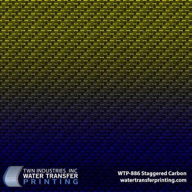 WTP-886 Staggered Carbon Blue