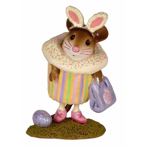Wee forest folk easter cupcake treat aei studio and gifts easter cupcake treat we just love this little easter cupcake shes got her bunny ears on and with her treat bag is ready to go on an easter egg hunt negle Image collections