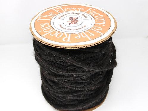 Alpaca Rug Yarn - Black