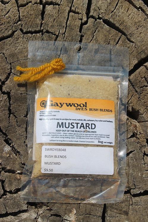Gaywool Dyes Bush Blends - Mustard