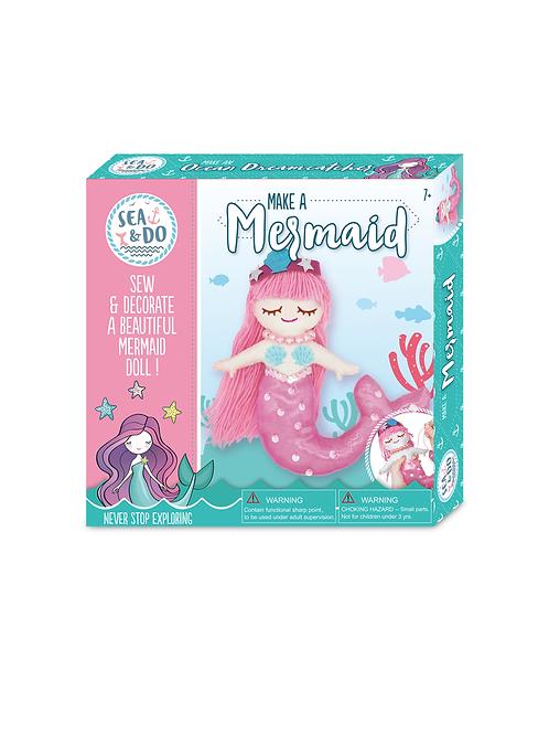 Sea & Do: Make a Mermaid