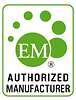 EM authorized mfg, Integrated Bio Products LLC