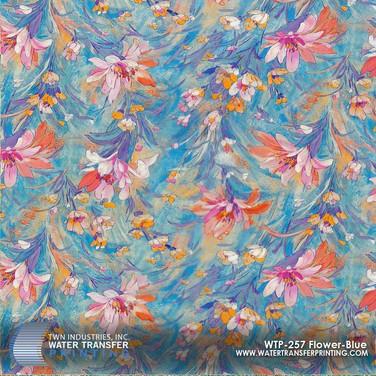 WTP-257 Flower Blue