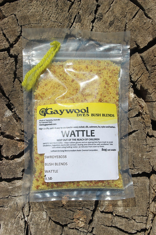Gaywool Dyes Bush Blends - Wattle