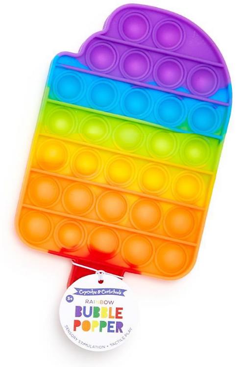 Rainbow Bubble Popper - Popsicle
