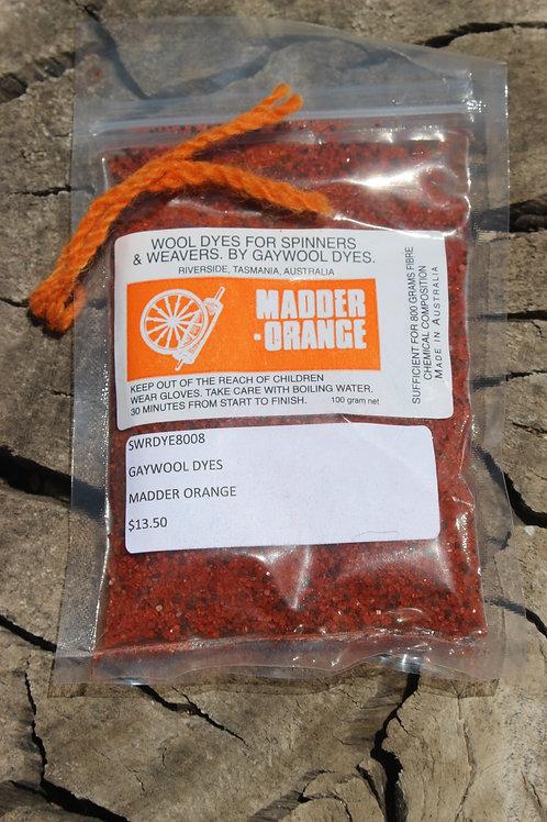 Gaywool Dyes Originals - Madder Orange
