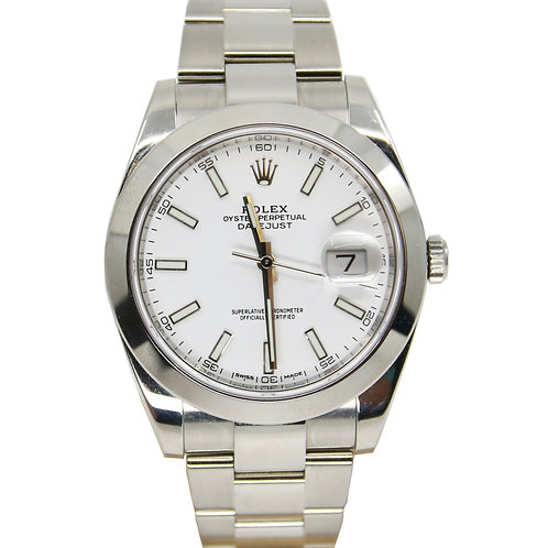 Rolex Oyster Perpetual DateJust Mens Watch - Model 126300