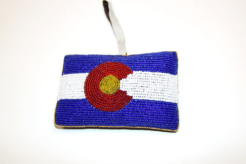 Ornament -Sequined Colorado State Flag