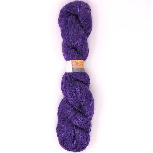 Alpaca/Shetland Blend 2-Ply Sport - Deep Purple