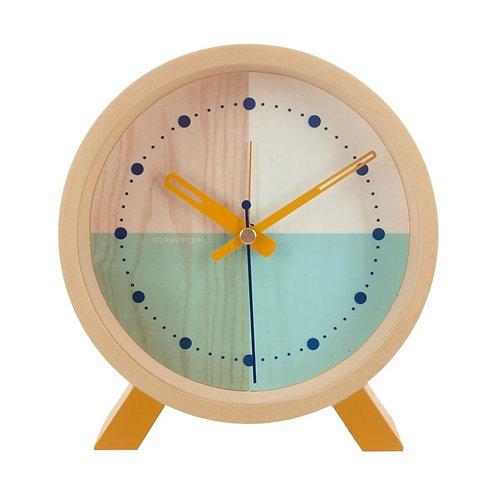 Turquoise Flor Desk Clock