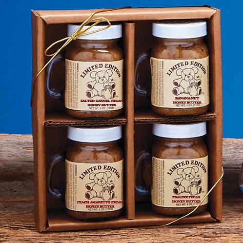 Honey Butter -Assortment Gift Box (set of 4)
