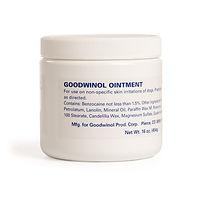Goodwinol Ointment - Goodwinol Products Corp