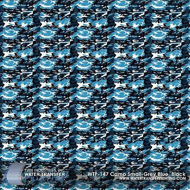 WTP-147 Camo Small-Grey, Blue, Black