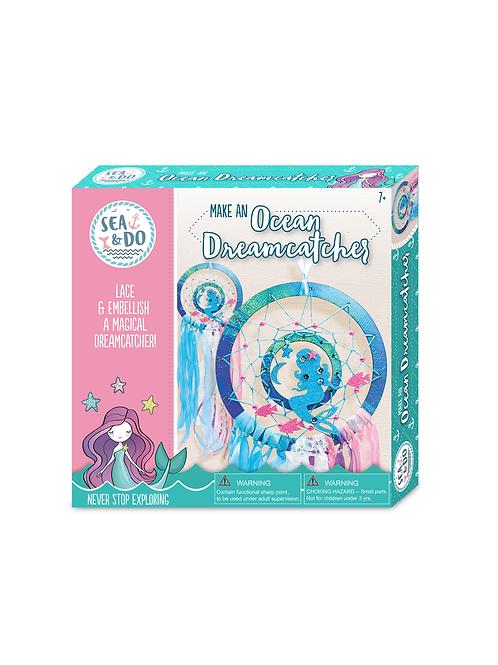 Sea & Do: Make an Ocean Dreamcatcher