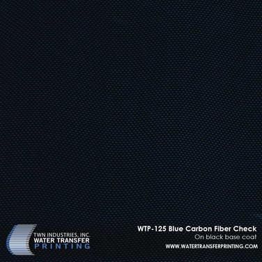 WTP-125 Blue Carbon Fiber Check