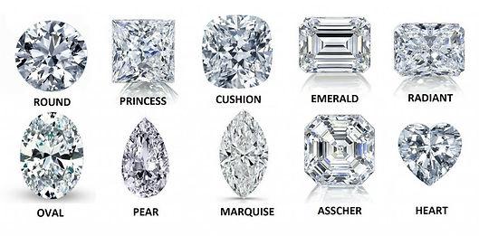 diamond shapes - weiss jewelers