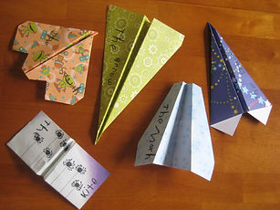 Paper Airplane Making