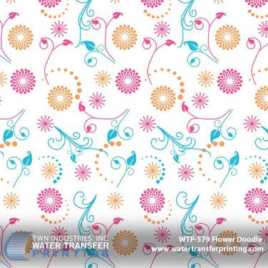 WTP-579 Flower Doodle