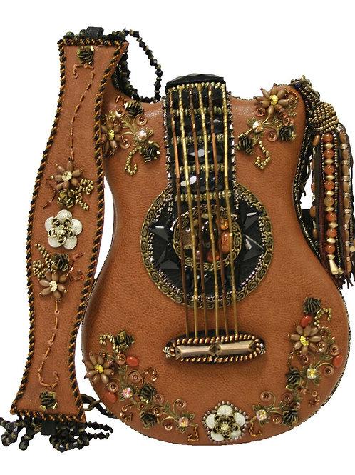 Hall of Fame Embellished Crossbody Guitar Handbag