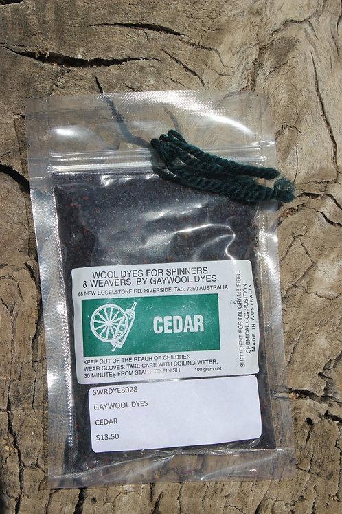 Gaywool Dyes Originals -Cedar