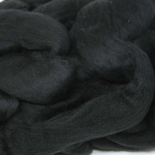 22 Micron Merino Silk Top - Black