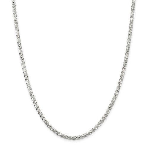 "24"" Spiga Chain - Sterling Silver"