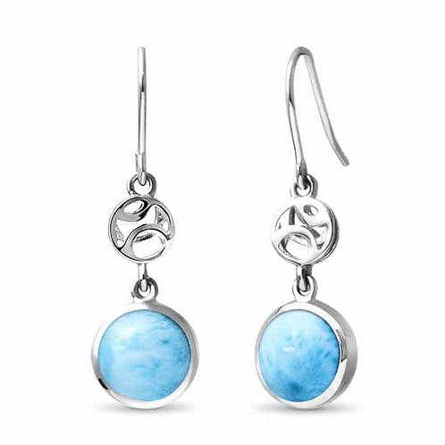 Zara Larimar Earrings
