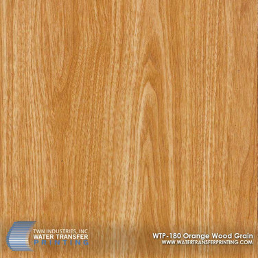 WTP-180 Orange Wood Grain