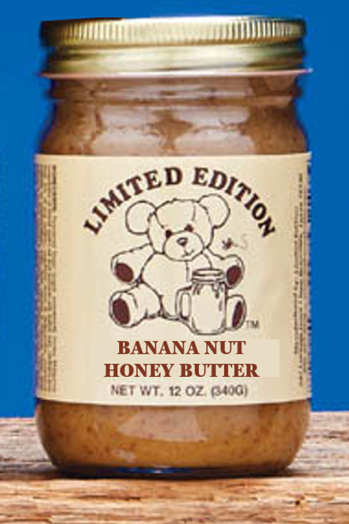 Honey Butter - Banana Nut 12 oz jar