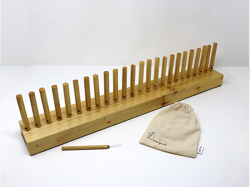 Hand Crafted Peg Loom (24-inch)