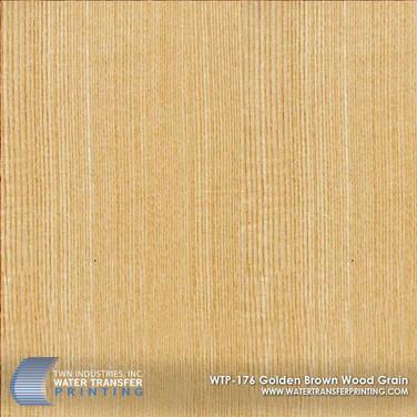 WTP-176 Golden Brown Wood Grain