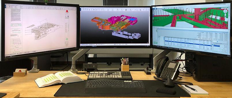 3D viewer, detailed fabrication software