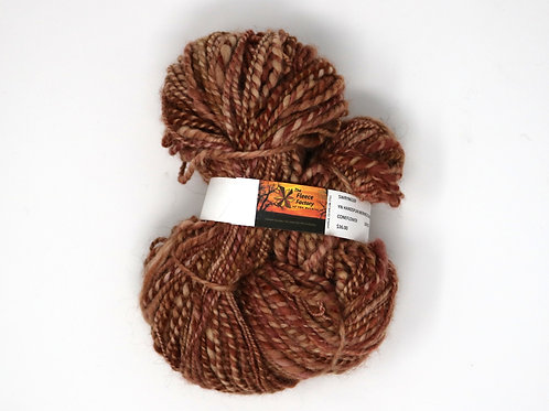Alpaca Bulky Single - Handspun Coneflower