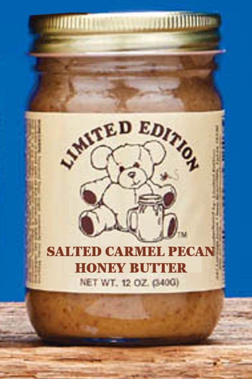 Honey Butter - Salted Carmel Pecan 12 oz jar
